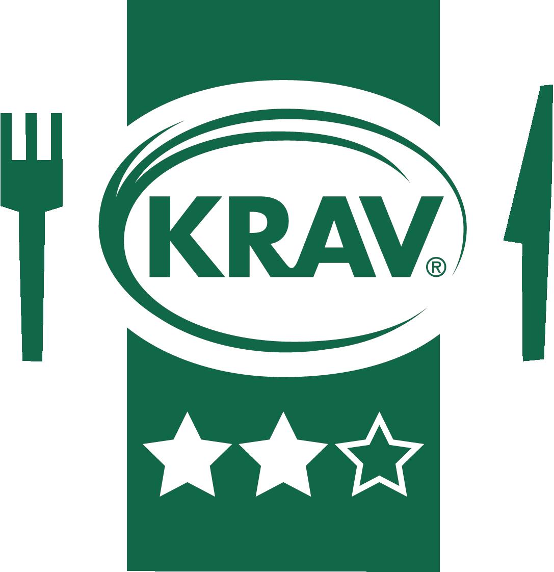 KRAVs restaurangmärkning med två stjärnor
